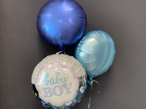 Baby Boy Ballon €5,50<br />ohne Druck €4,50 51