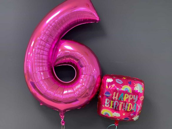 Zahlenballon €9,90<br />Geburtstagsballon €5,50 25