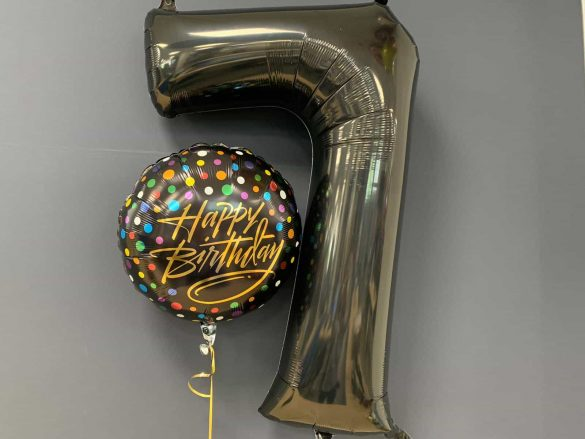 Zahlenballon 7 € 9,90<br />Happy Birthday € 5,50 273