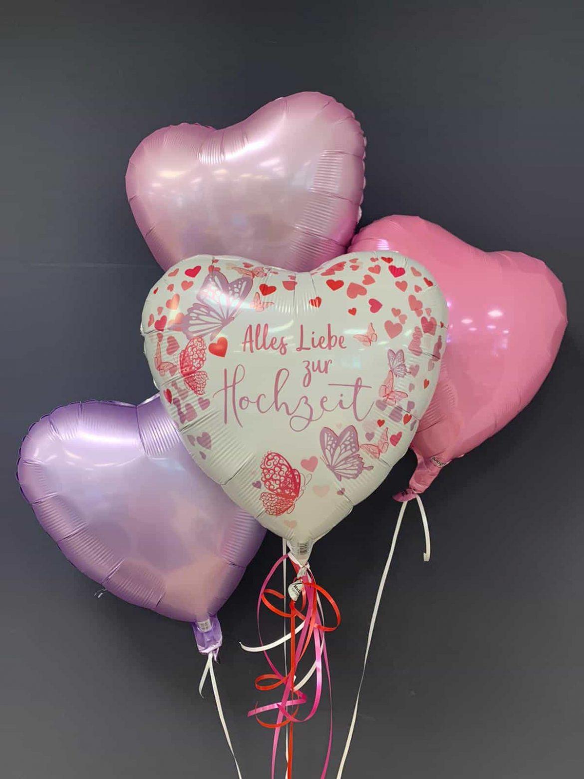 Hochzeitsballon € 5,90<br />Dekoballon €4,50 1