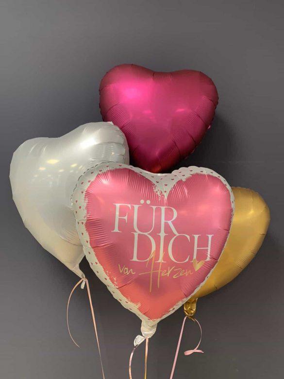 Ballon Für Dich €5,90<br />Dekoballons € 4,50 20