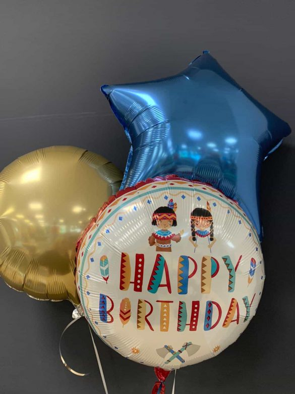 Happy Birthday € 5,50 <br />Deko-Ballons € 4,50 133