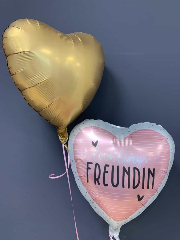 Beste Freundin € 5,90 <br />Dekoballon € 4,50 20