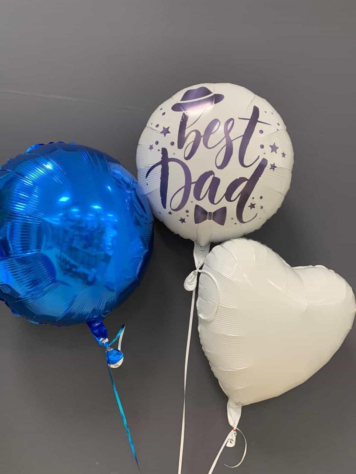 Best Dad € 5,90<br />Dekoballons € 4,50 1