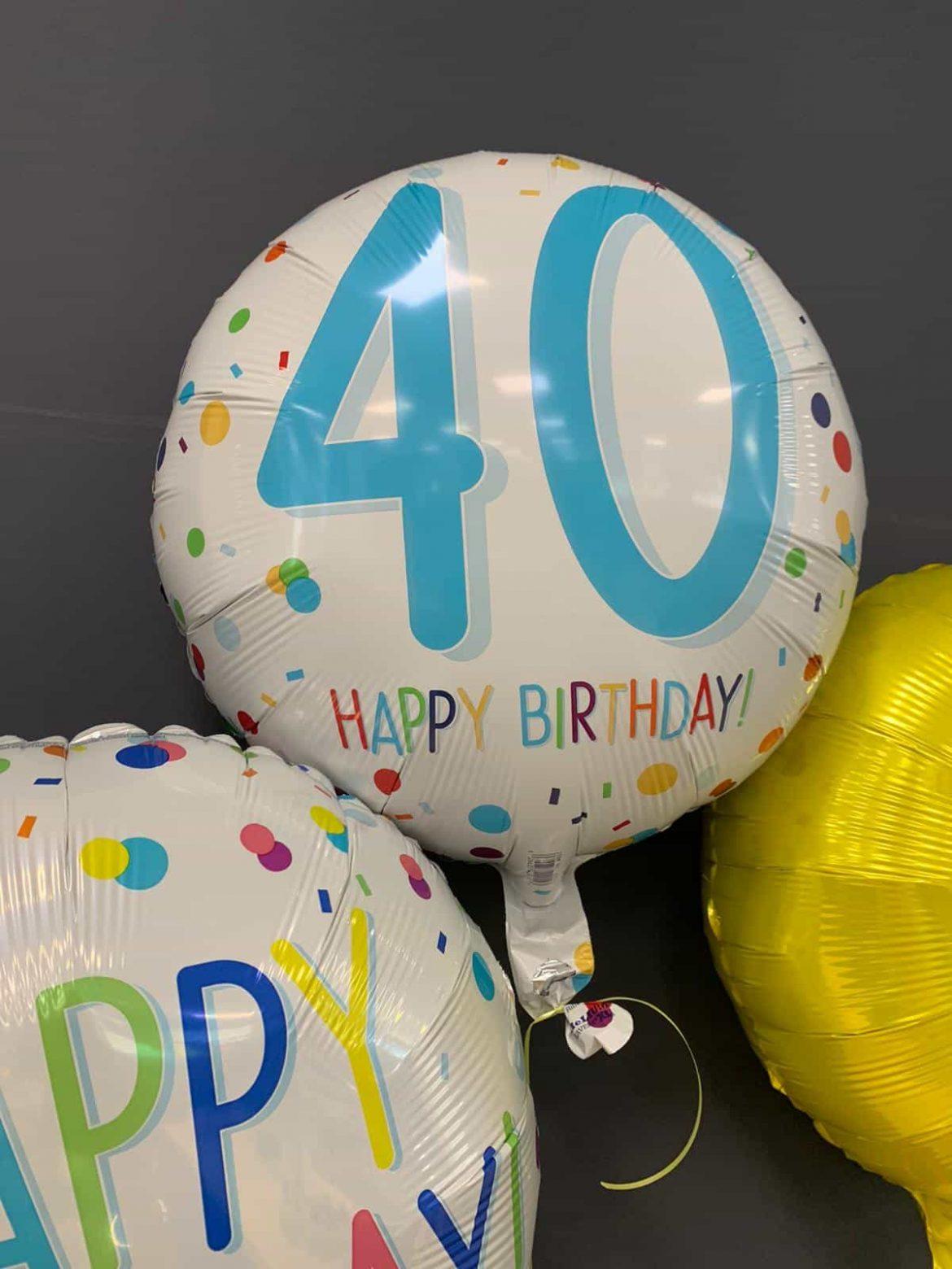 Detail Ballon 40