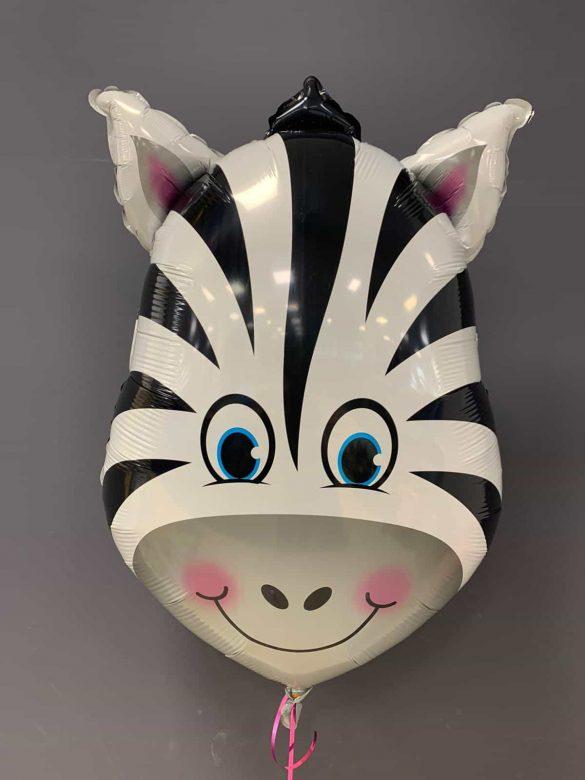 Zebra Heliumballon<br />80cm gross - € 7,90 72