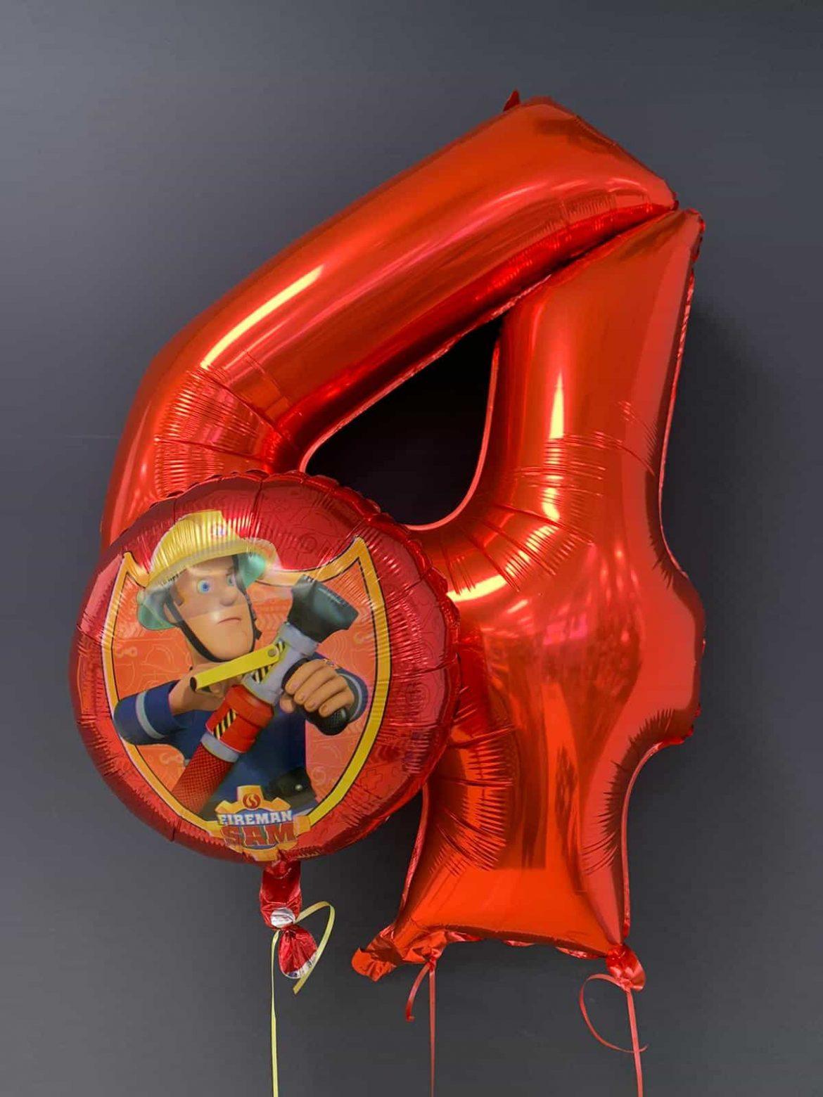 Feuerwehrmann Sam € 5,50<br />Zahlenballon € 9,90 1