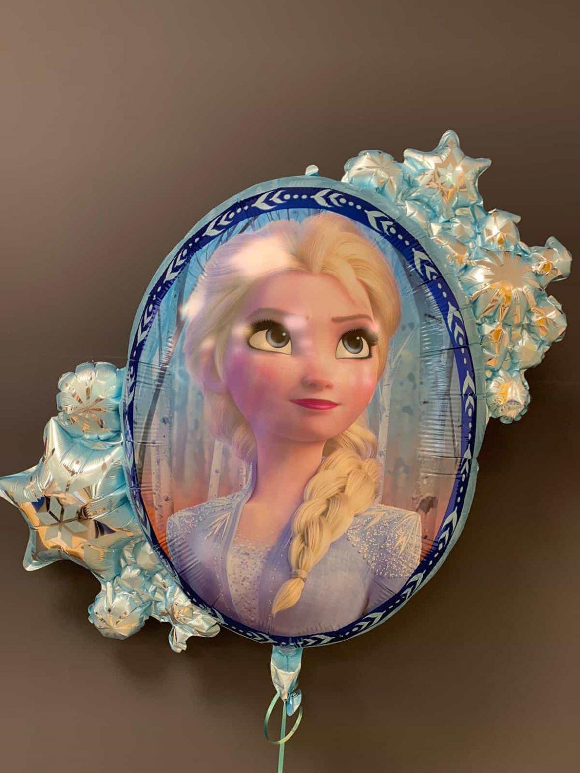 Frozen Disney<br />Heliumballon € 8,90<br />2 Seiten - Elsa 1