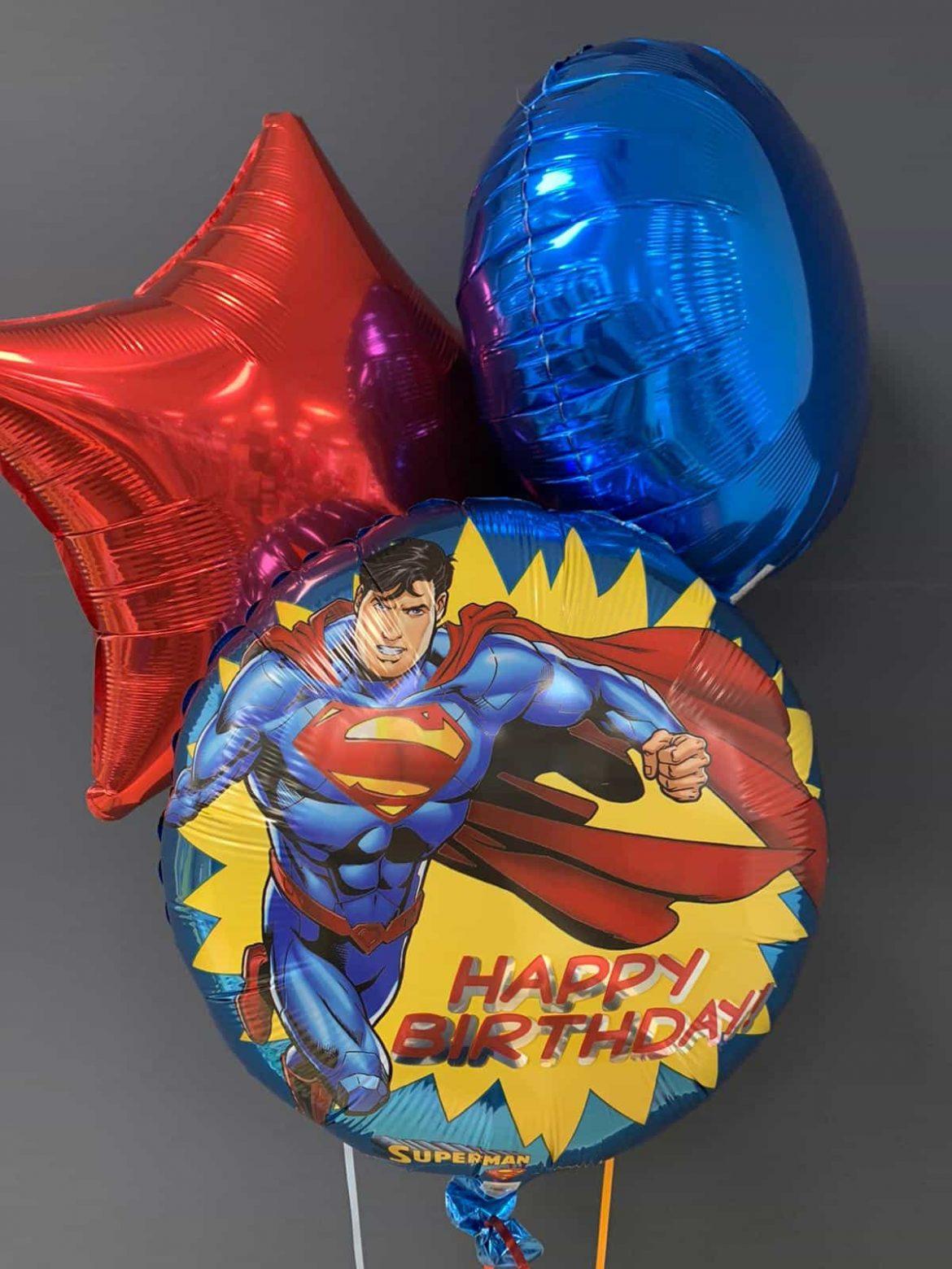 Superman Ballon<br />Happy Birthday € 5,50<br />Dekoballons € 4,50 1