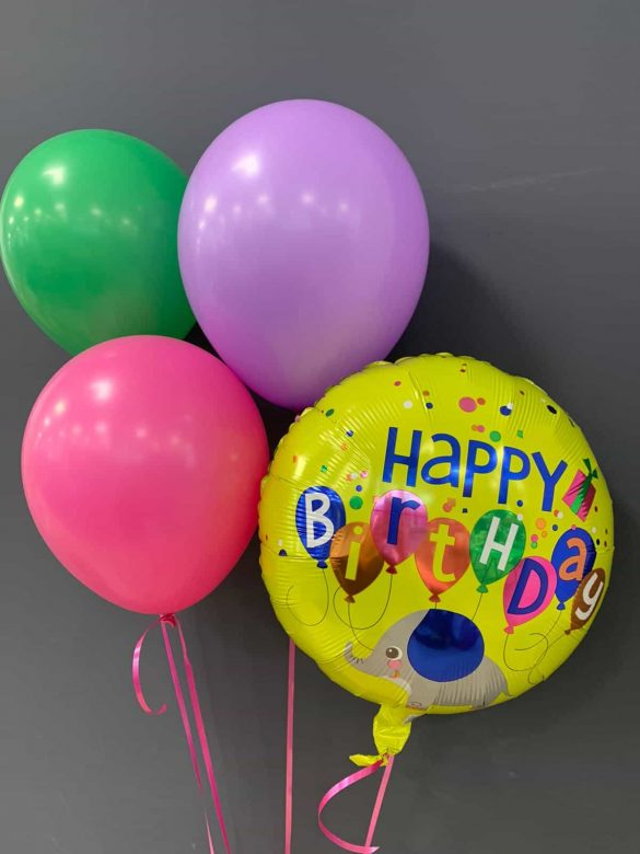 Happy Birthday € 5,50 <br />Latexballons € 1,95 135