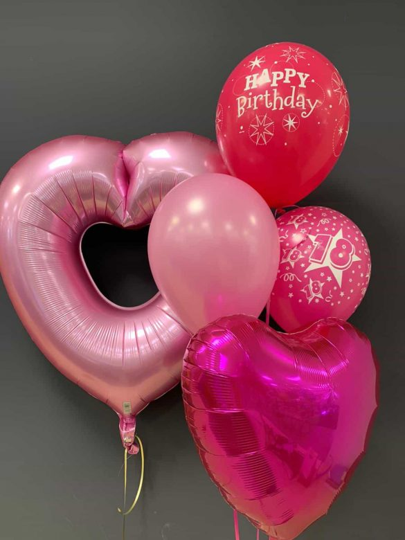 Großes Herz € 7,90 <br /> Latexballons € 1,95 <br /> Dekoballon € 4,50 92