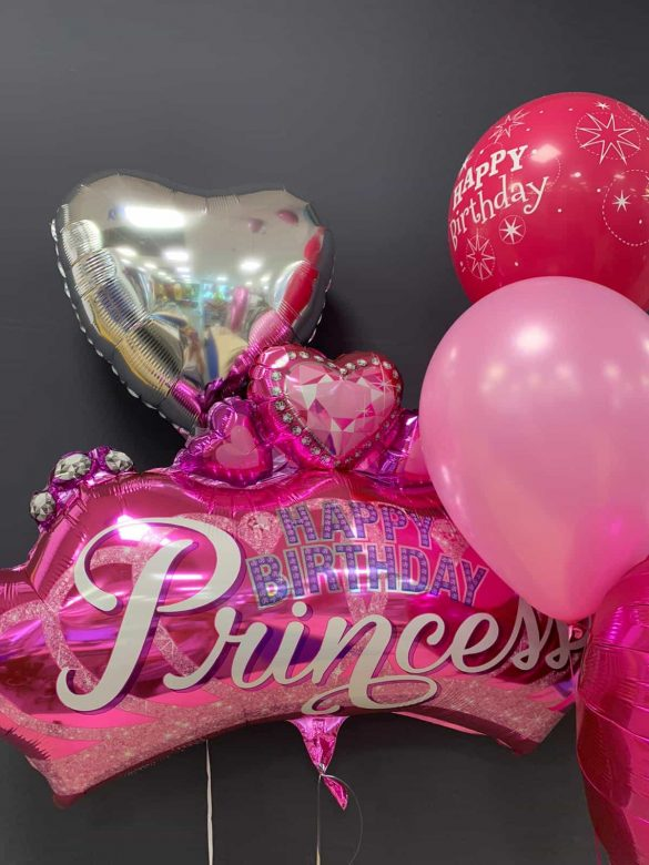 Princess Birthday € 7,90 <br />Dekoballon € 4,50 <br /> Latexballons ab € 1,95 129