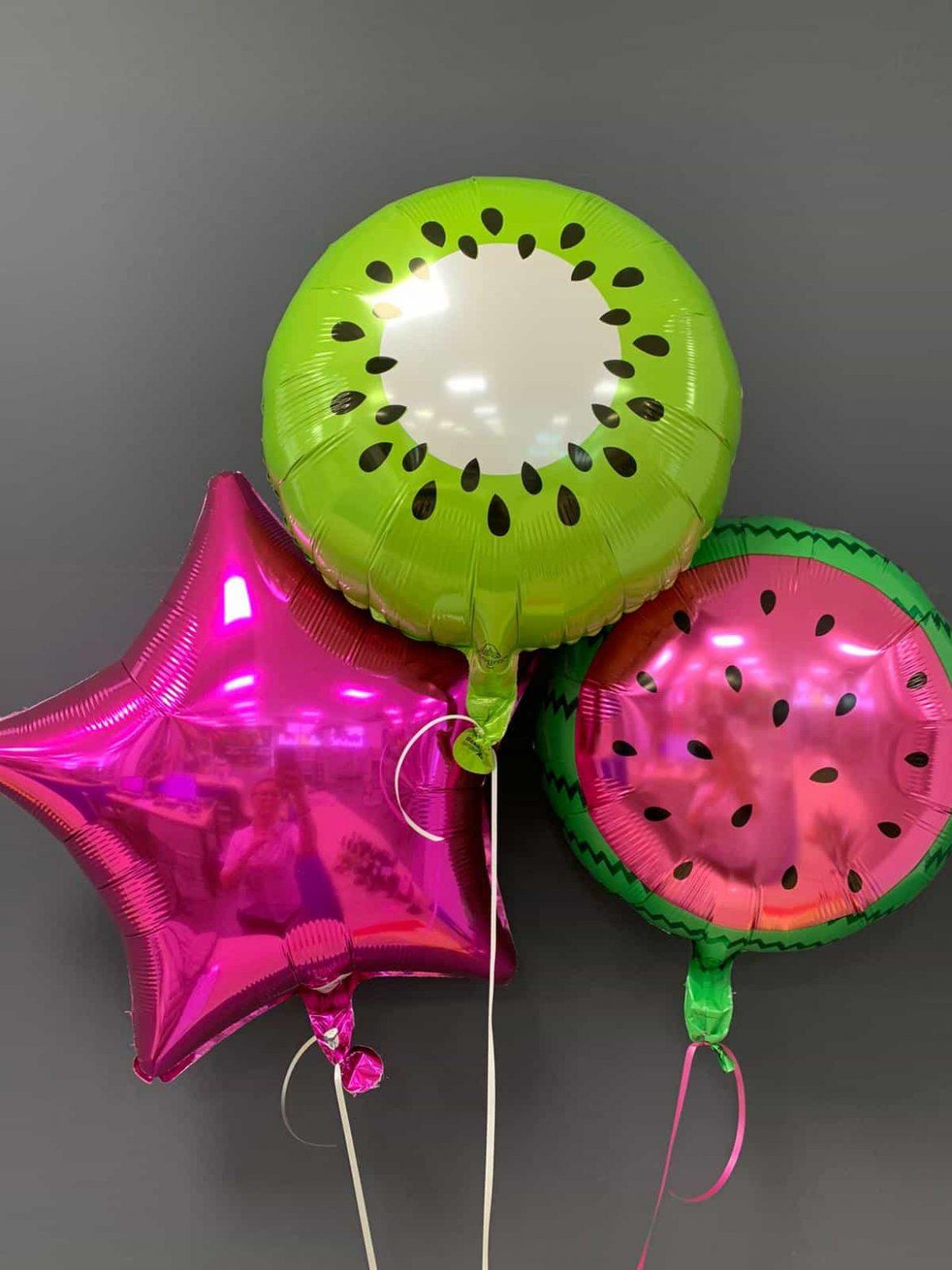 Obst Ballons € 5,50<br />Dekoballons € 4,50 1