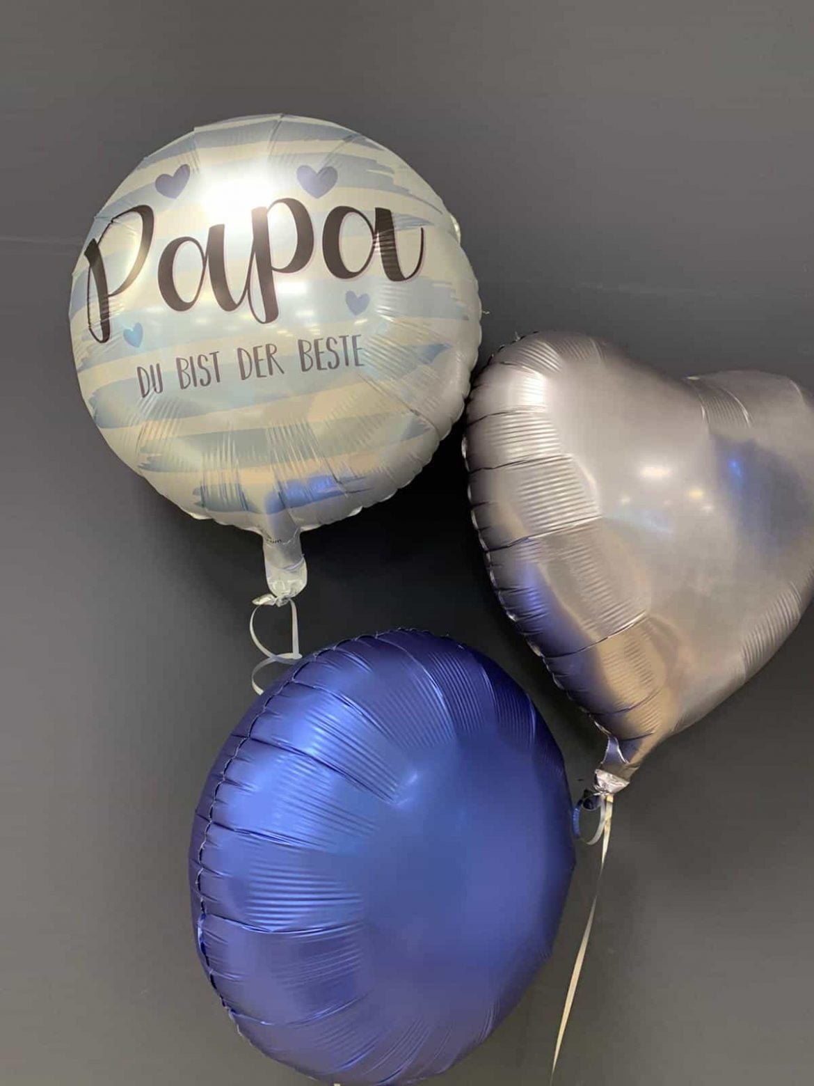 Papa Du bist der Beste<br />Folien-Ballon € 5,50<br />Dekoballon € 4,50 1