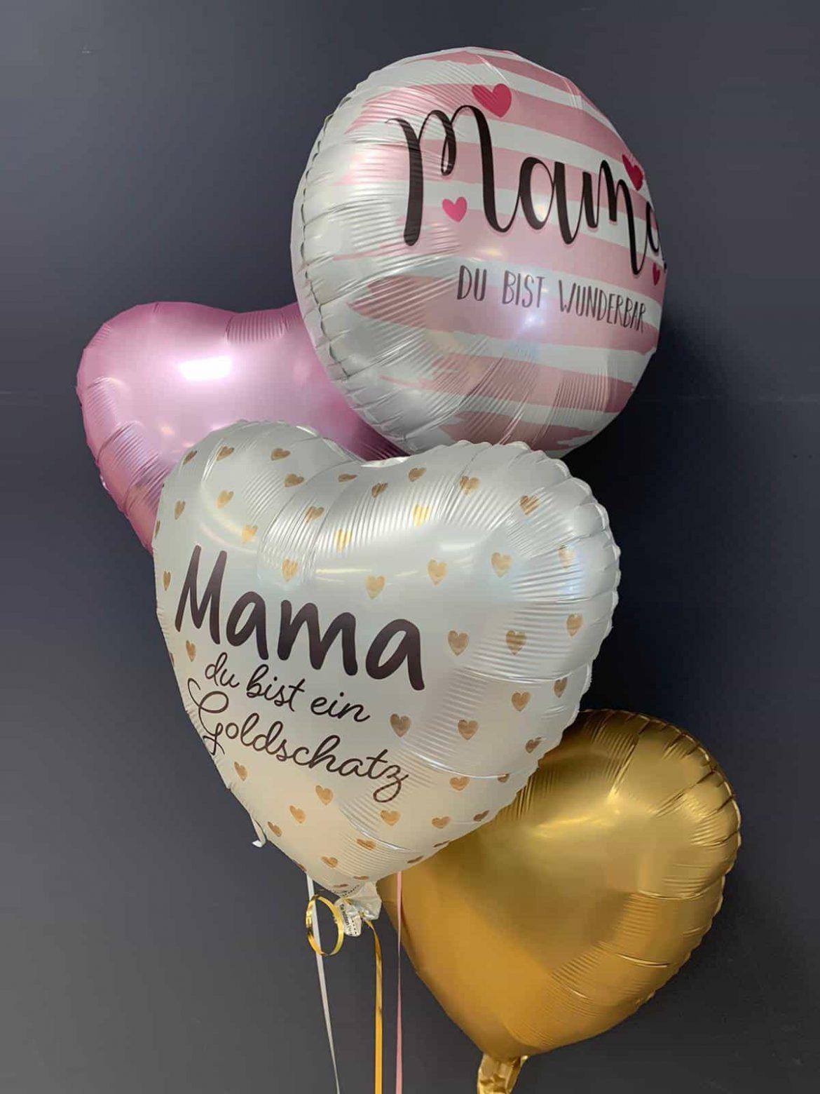 bedruckte Ballons € 5,90<br />Dekoballons € 4,50 1