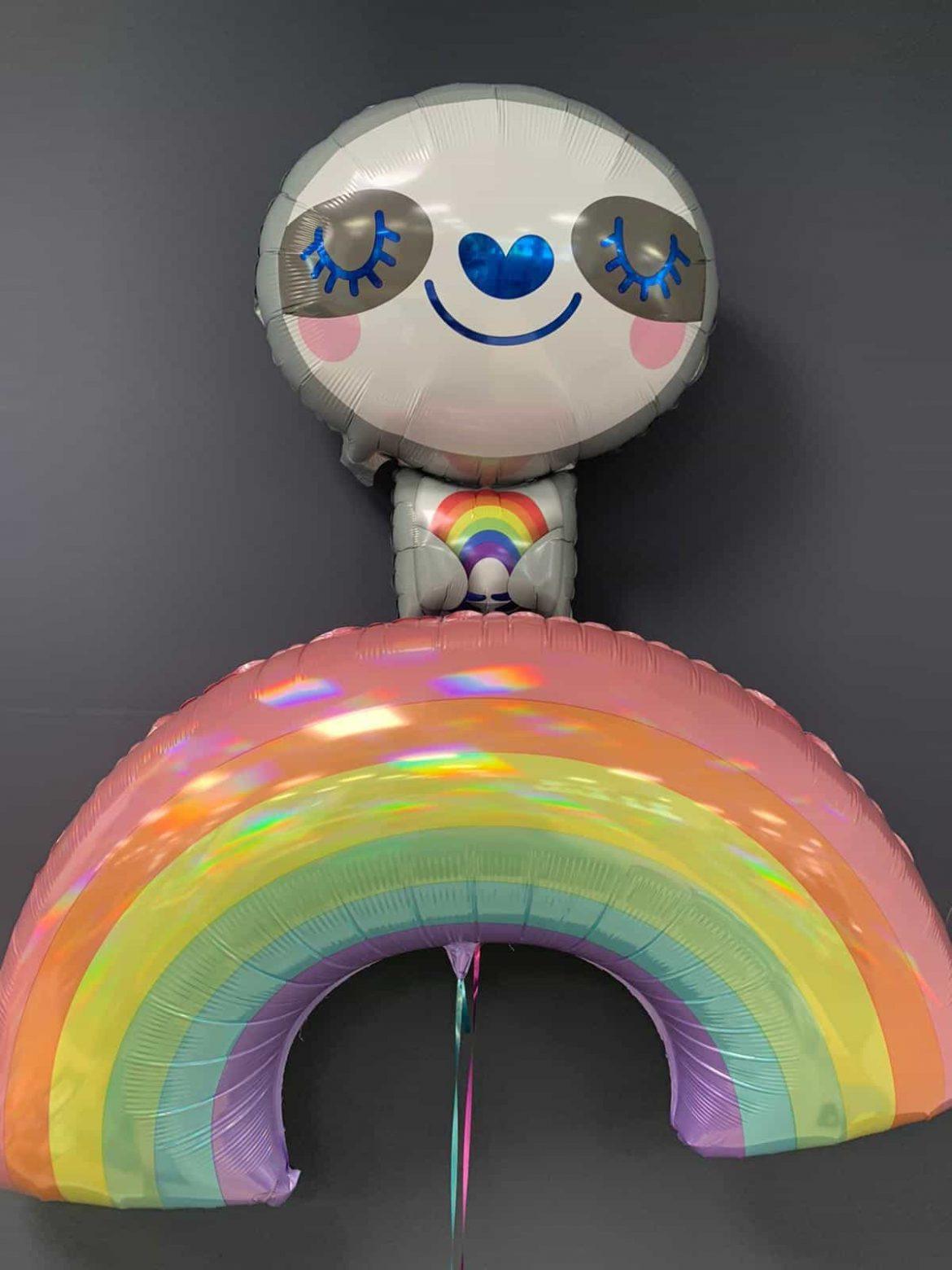 Faultierballon € 5,90<br />Regenbogen € 7,90 1