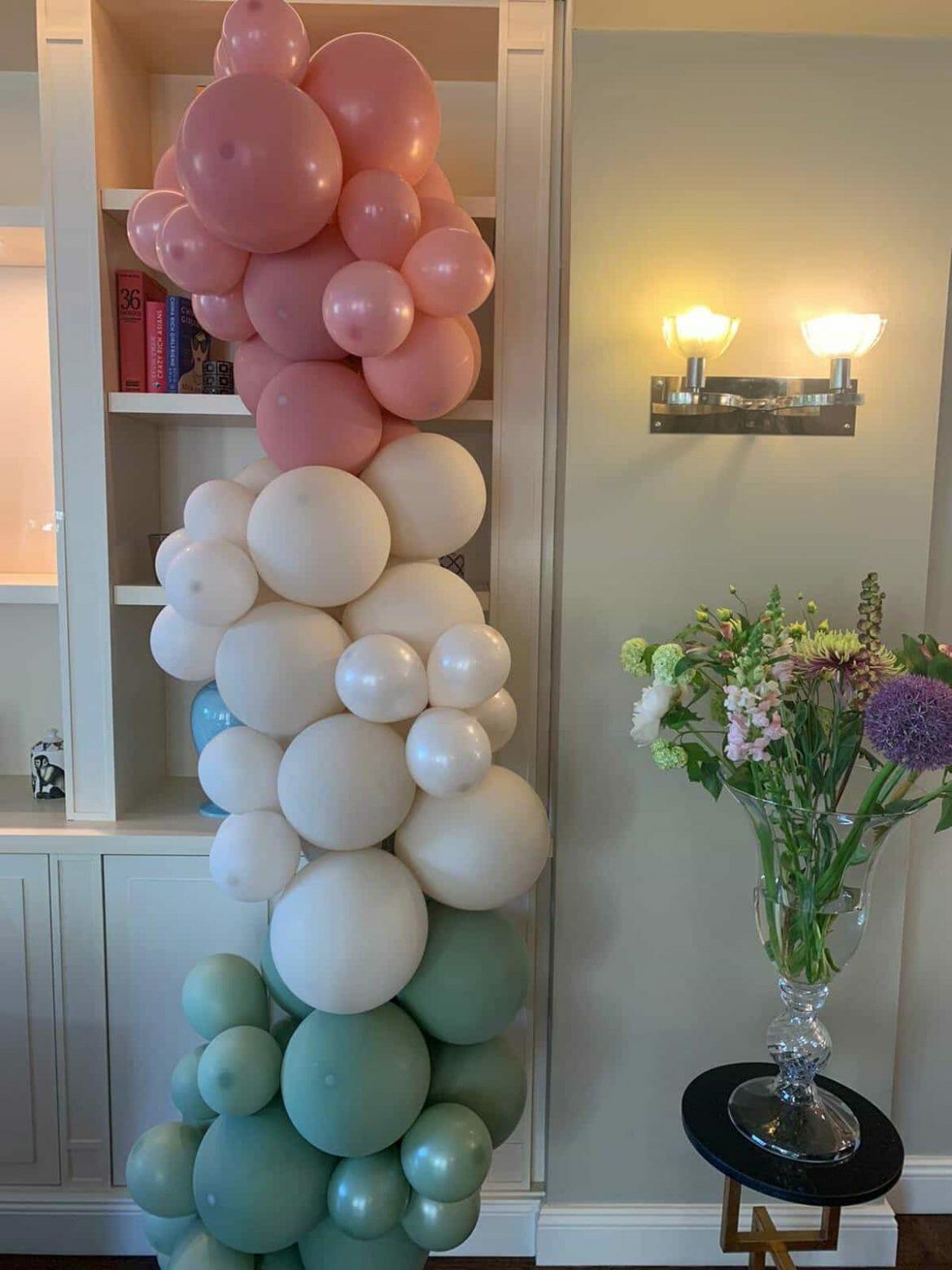 Dekoration mit Ballons 1