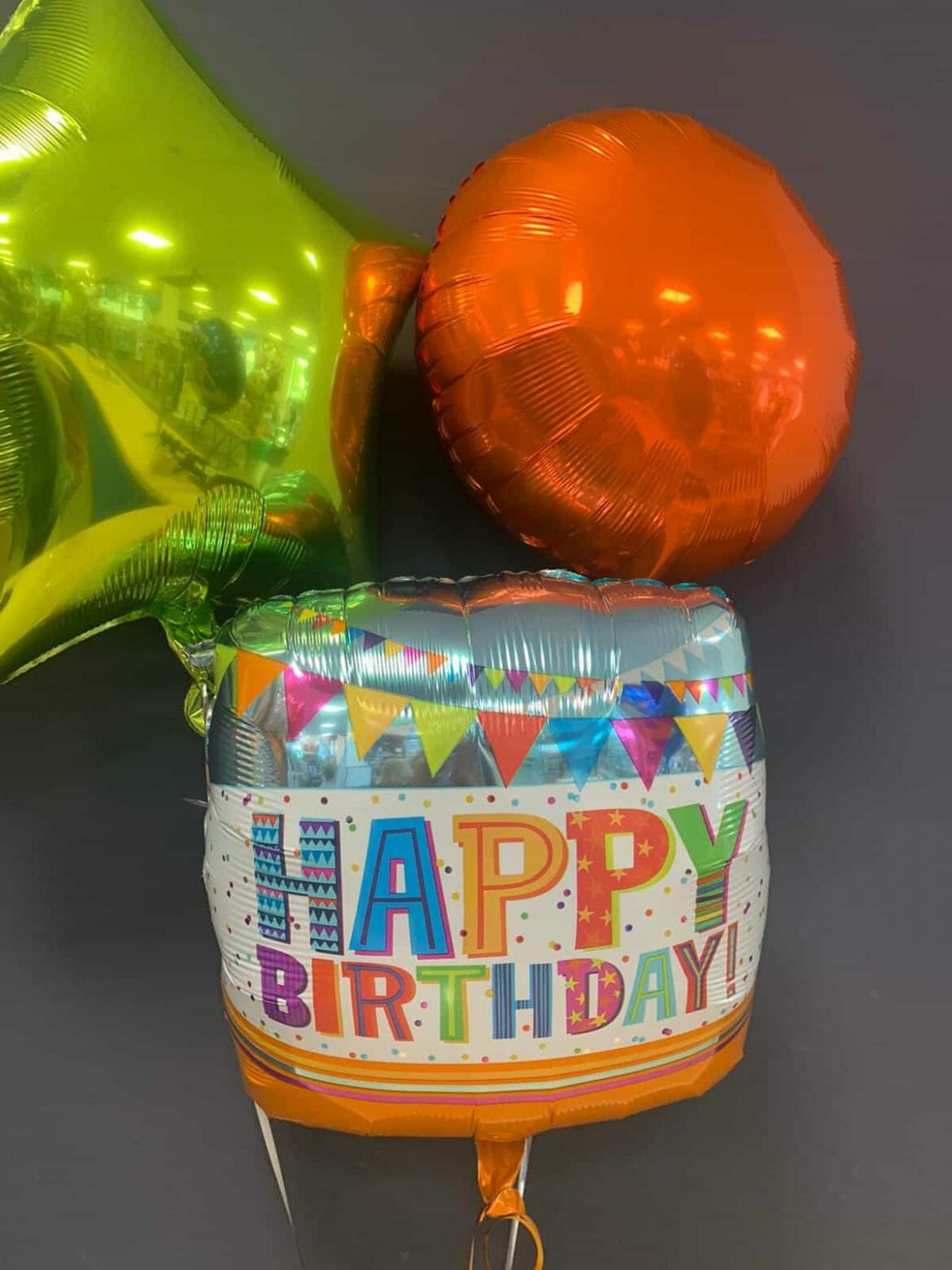Happy Birthday EUR 5,50<br />Dekoballons EUR 4,50 1