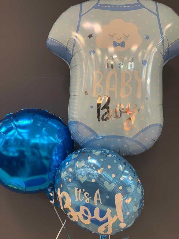 Ballon zur Geburt <br> Its a Baby Boy € 6,90<br> Its a Baby € 5,50 <br> Dekoballon € 4,50 17