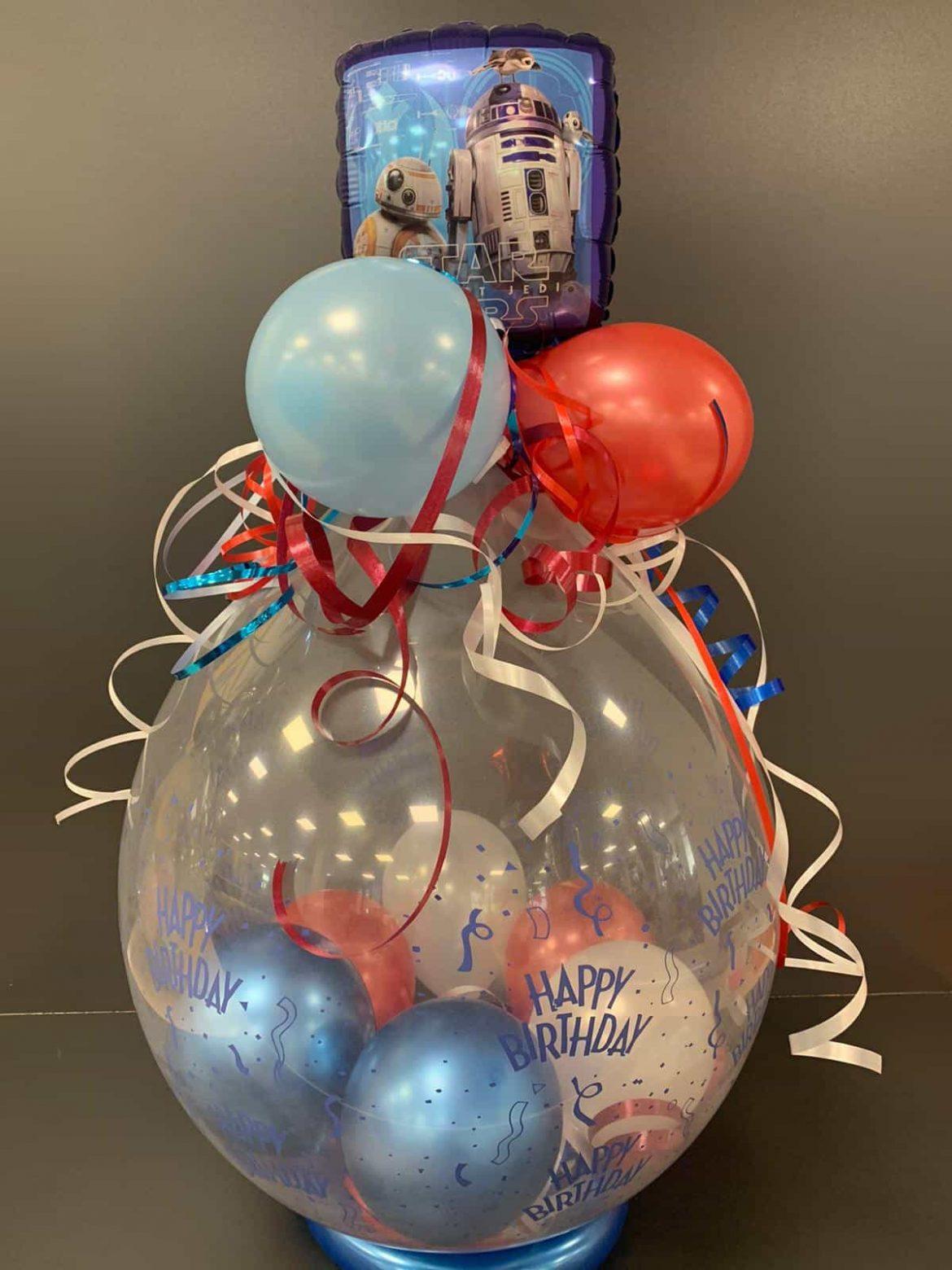 Ballongeschenk Geburtstag 1