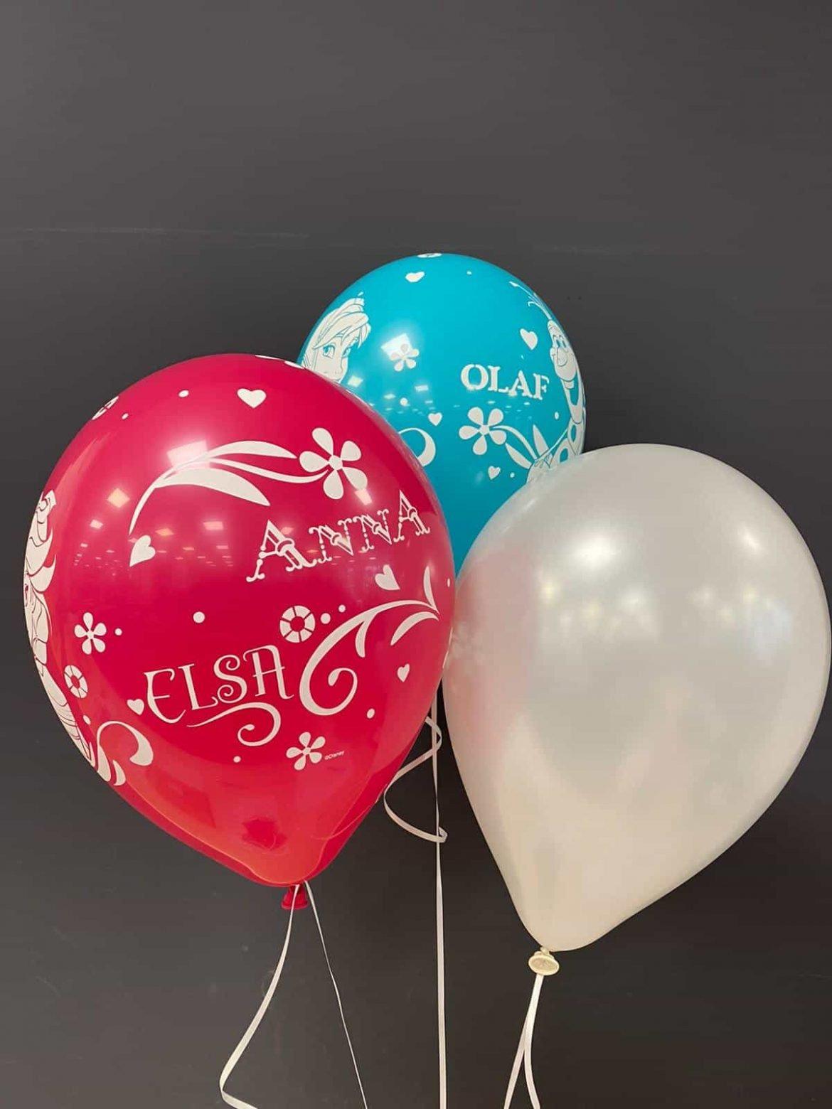 Frozen Latexballons 1