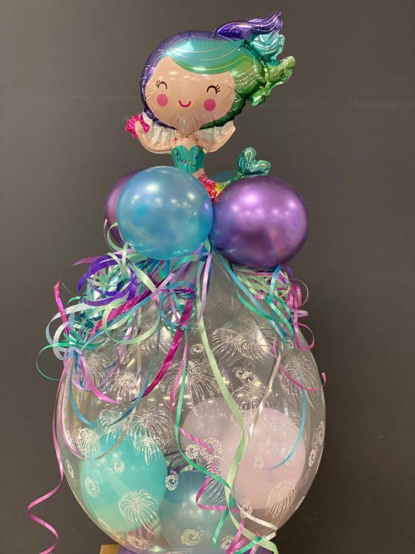 Geschenkballon <br>mit Meerjungfrau 5