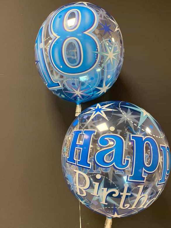 Ballons Geburtstag<br>Bubble-Ballon<br>je € 7,90 20