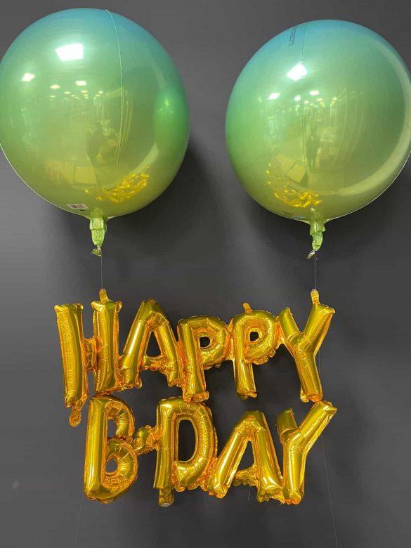 Happy Birthday Dekoration 22