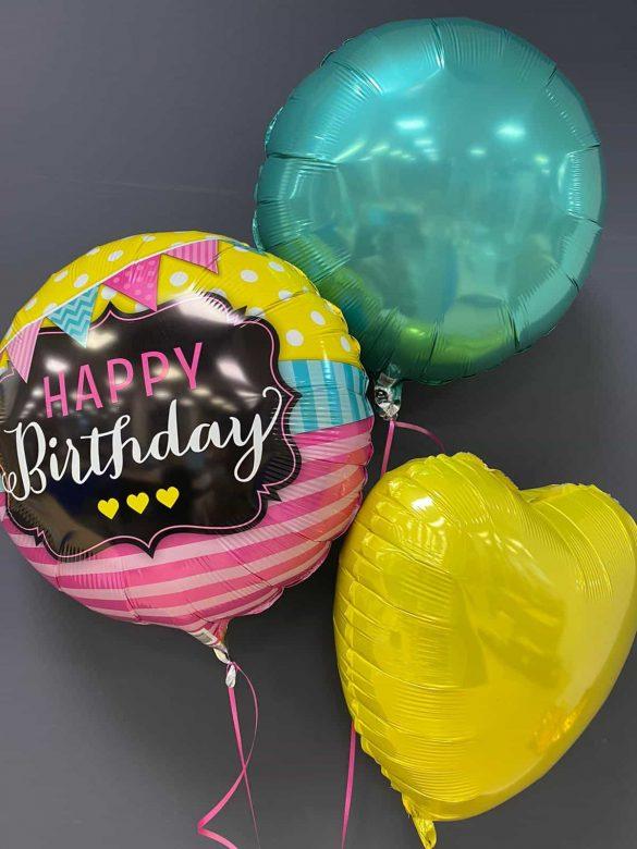 Happy Birthday € 5,50<br>Dekoration je € 4,50 6